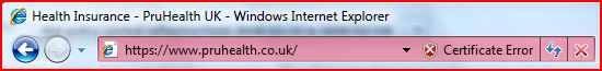 IE7 address bar